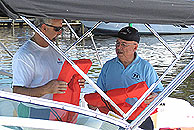 Bob Strong performs a Vessel Safety Check