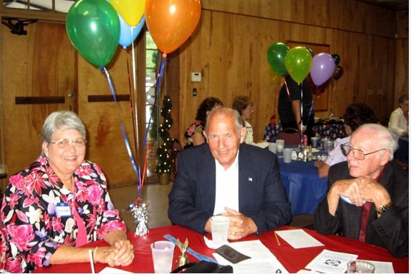 Brenda and Bill Edgerton with Joe Norman